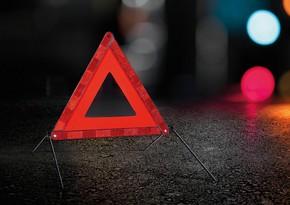 Salyanda avtomobil 64 yaşlı kişini vurdu