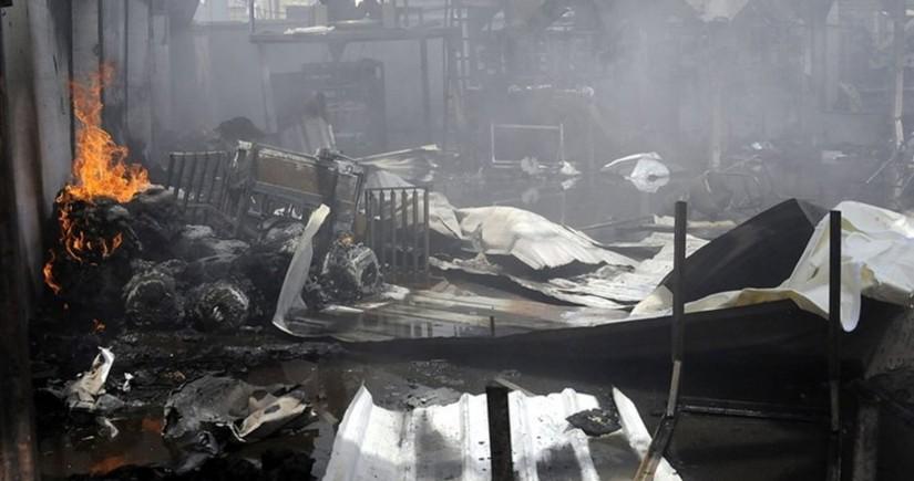 Yəməndə yanğın zamanı 8 nəfər həlak olub, 170 nəfər yaralanıb
