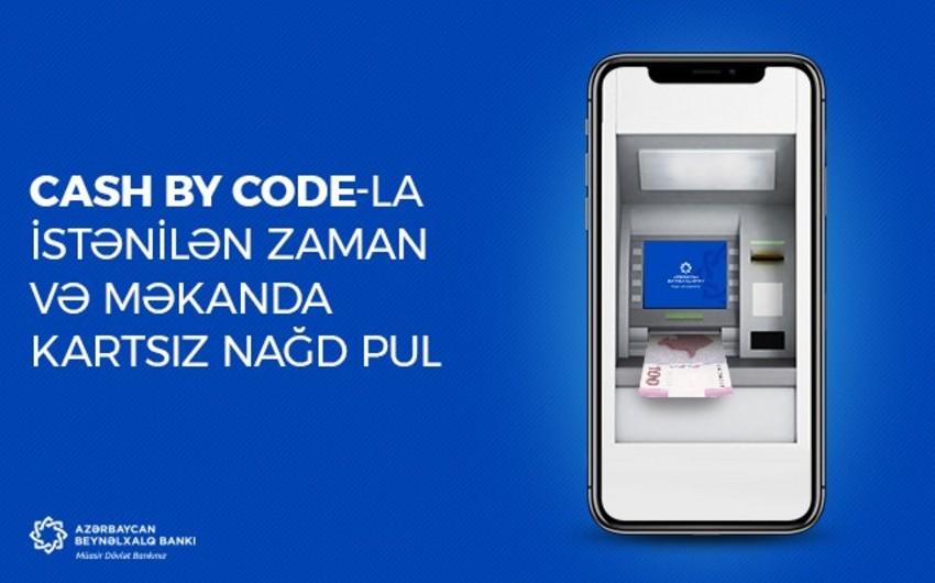 """ABB-nin IBAm əlavəsinə """"Cash by Code"""" xidməti əlavə edilib"""