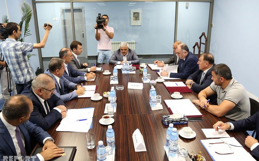 AFFA-nın İcraiyyə Komitəsinin iclası başlayıb - FOTO