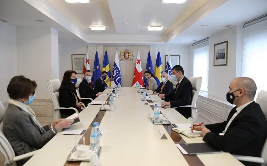 Председатель ОБСЕ обсудила с премьером Грузии ситуацию в регионе