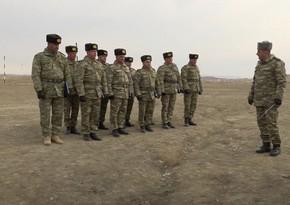 Naxçıvan Qarnizonu qoşunlarında komandir hazırlığı məşğələləri keçirilib