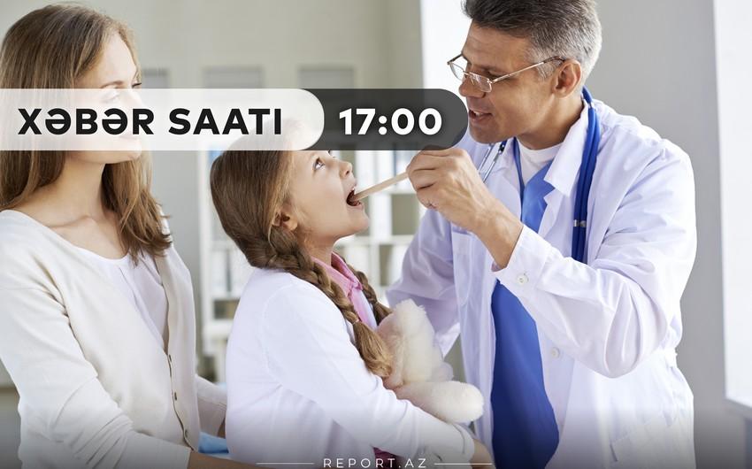 """""""Xəbər Saatı"""": Uşaqlar yeni üsulla COVID-19 testindən keçirilməlidir"""