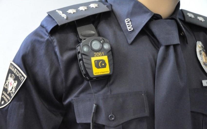 Tbilisidə polis əməkdaşı yaralanıb