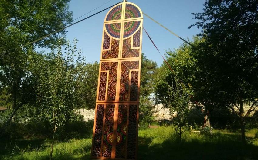 Произведение азербайджанских мастеров украсит фасад посольства Ватикана