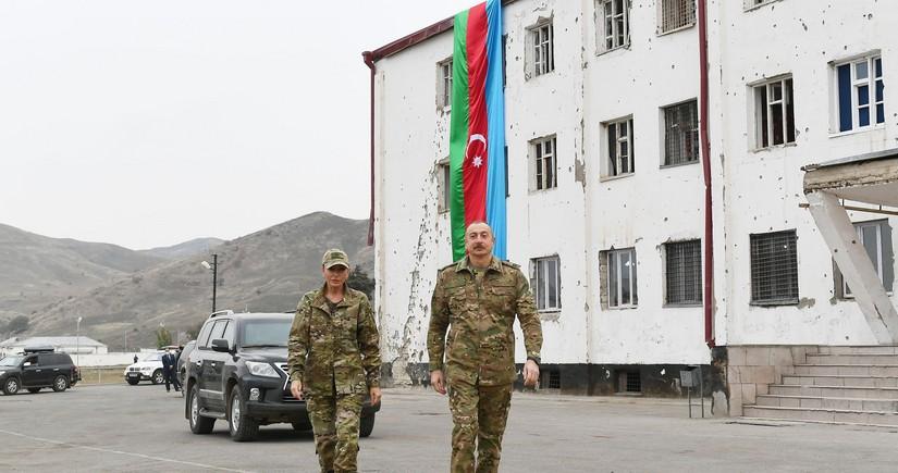Ilham Aliyev, Mehriban Aliyeva visit liberated Fuzuli and Jabrayil
