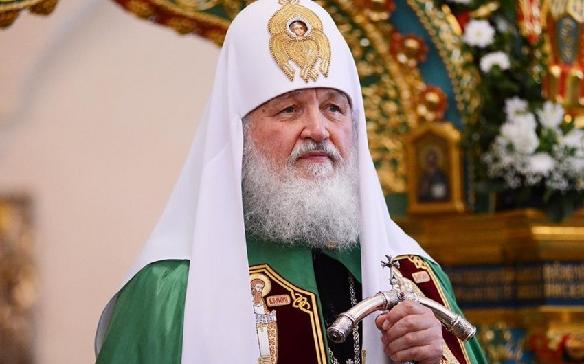 Patriarx Kirill: Rusiyada dinlərarası gərginliyin olmaması, həm də Azərbaycandan olan müsəlmanların mövqeyi ilə bağlıdır