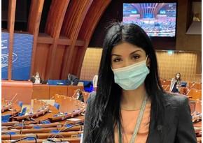 Milli Məclisin deputatı məcburi köçkünlərin qayıdışı məsələsini AŞPA-da qaldırıb