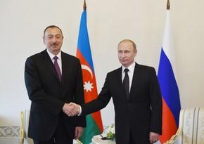 Владимир Путин позвонил Ильхаму Алиеву