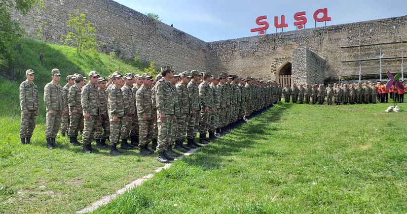 Day of Victory over fascism celebrated in Shusha