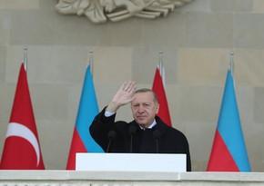 Президент Турции: Хары бюльбюль стал символом свободы азербайджанских земель