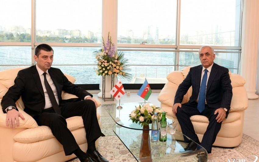 Состоялась встреча премьер-министров Азербайджана и Грузии