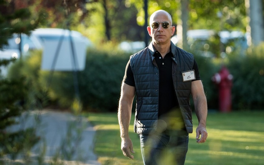 Cef Bezos kosmosa uçacaq