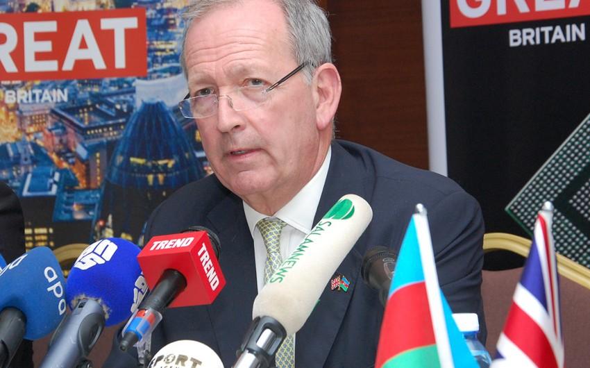 Alan Yarrou: Böyük Britaniya Azərbaycana iqtisadi sahədə apardığı işlərdə dəstək göstərməyə hazırdır