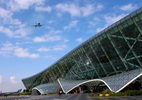 Число совершающих полеты в аэропорт им. Гейдара Алиева авиакомпаний достигло 20