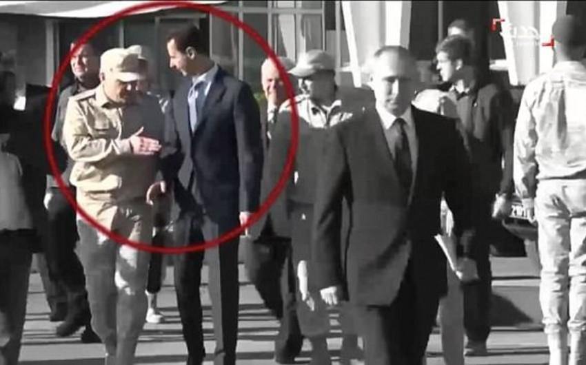 KİV: Rusiyalı zabit Bəşşar Əsədi Vladimir Putinin yanına buraxmayıb