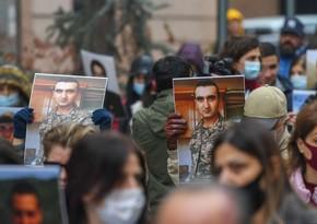 Rusiyanın Yerevandakı səfirliyinin qarşısında aksiya keçirilib