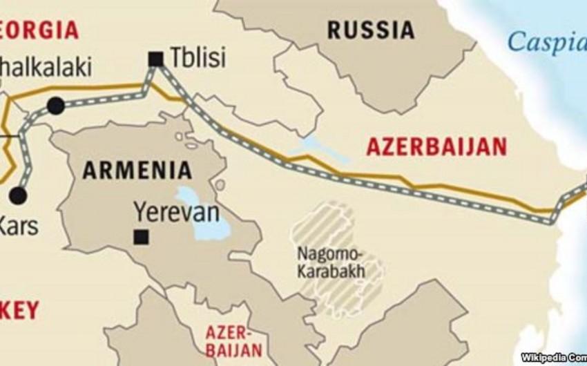 Konsul: Bakı-Tbilisi-Qars dəmir yolu xəttində son tamamlama işləri həyata keçirilir