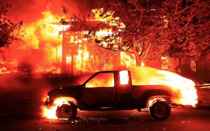 Kaliforniyada meşə yanğınları nəticəsində ölənlərin sayı 36 nəfərə çatıb - YENİLƏNİB