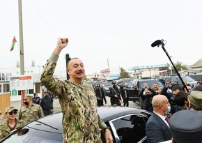 Освобождение земель – самый успешный результат деятельности Ильхама Алиева