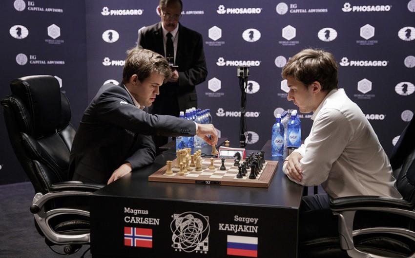 Maqnus Karlsen öz ad günündə şahmat üzrə dünya çempionu titulunu qoruyub
