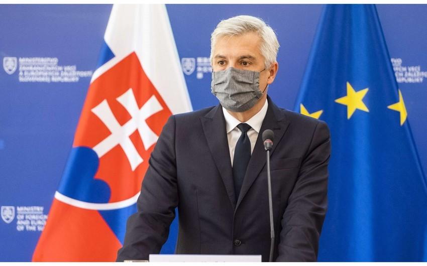 Глава МИД Словакии: Важно выполнять все пункты трехстороннего заявления по Карабаху
