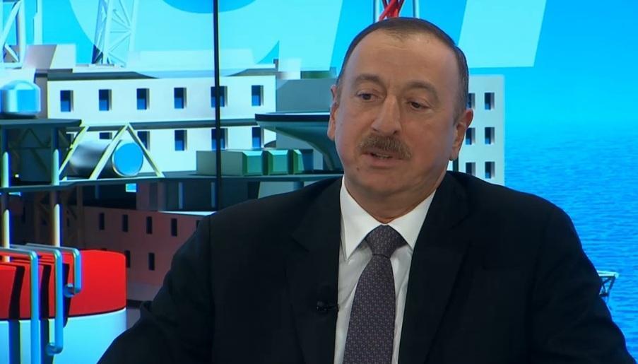 Президент Ильхам Алиев принял участие в сессии на тему Новый энергетический баланс Давосского форума - ФОТО