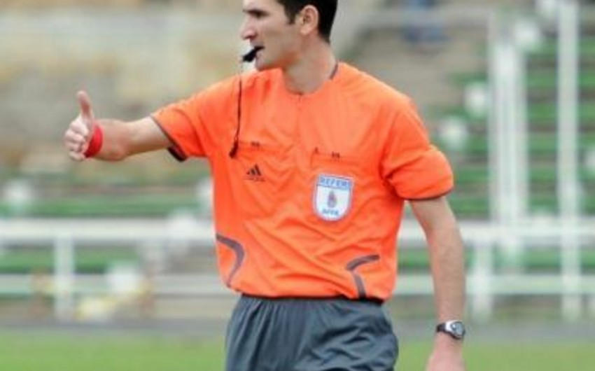UEFA invites Azerbaijan's new FIFA referee to course