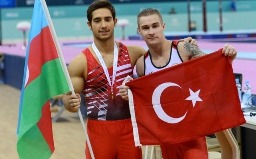 Azərbaycan gimnastı Dünya Çellenc Kubokunda 3 medal qazanıb