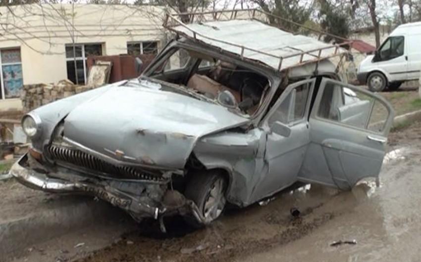 В Сальяне произошла авария, 4 человека пострадали - ОБНОВЛЕНО