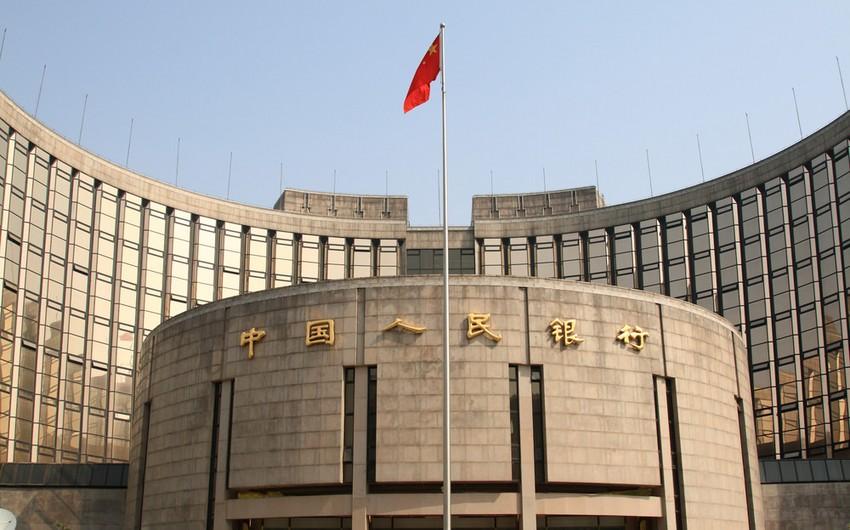 Çin Mərkəzi Bankı maliyyə bazarına 35 miyard dollaradək likvidlik verib