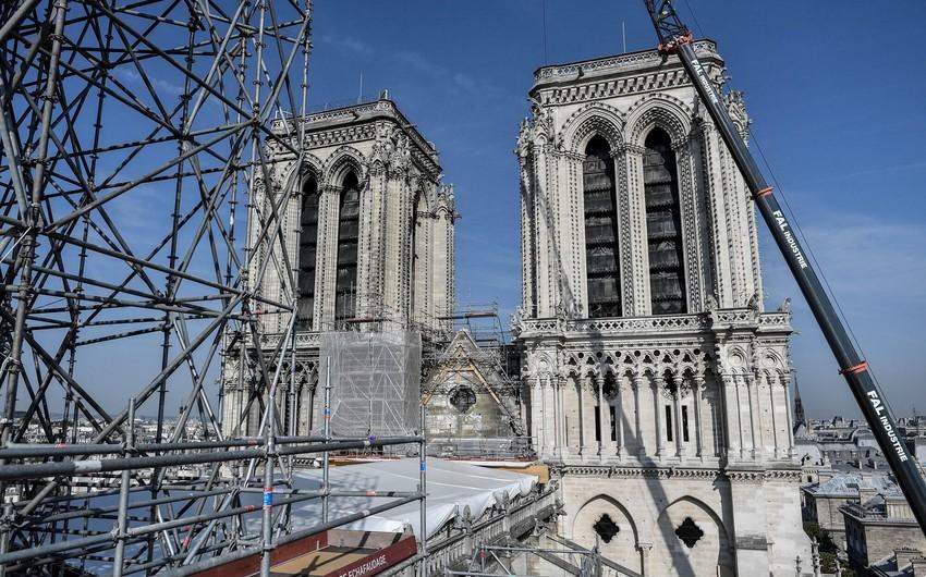 Работы по укреплению конструкции собора Нотр-Дам завершены