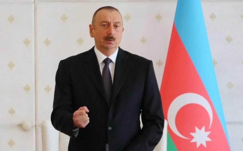 Azərbaycan Prezidenti: İşğalçı ölkə danışıqlar masasına qayıtmağa məcbur oldu