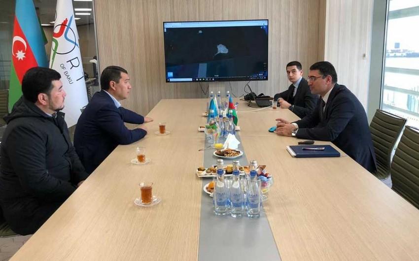 Ambassador of Kazakhstan familiarized with Baku International Port