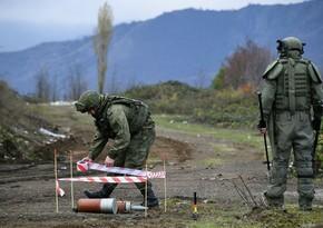 Миротворцы в Карабахе разминировали 427 га территории с начала миссии
