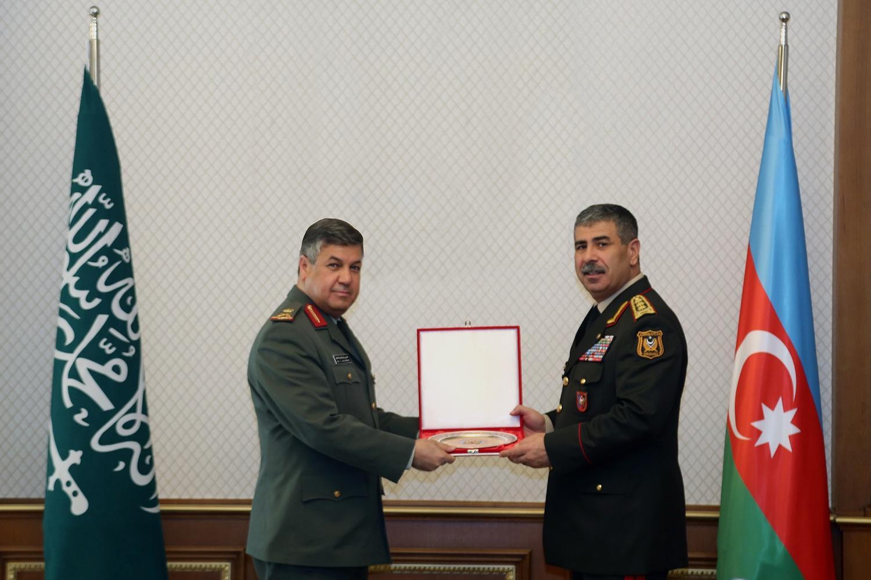 Azerbaijan and Saudi Arabia discuss prospects of military cooperation
