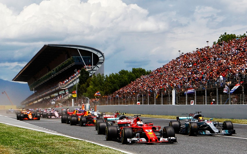 Гран-при Испании Формулы-1 стартует в Барселоне