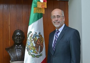 Mexican envoy meets head of Azerbaijan's State Committee on Work with Diaspora