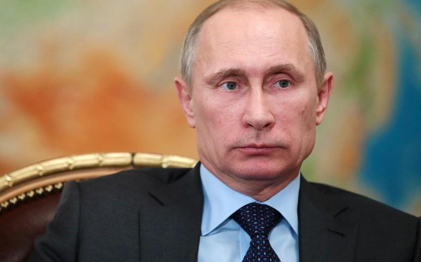 Putin: Suriya üzrə mövqeyimiz dəyişmir