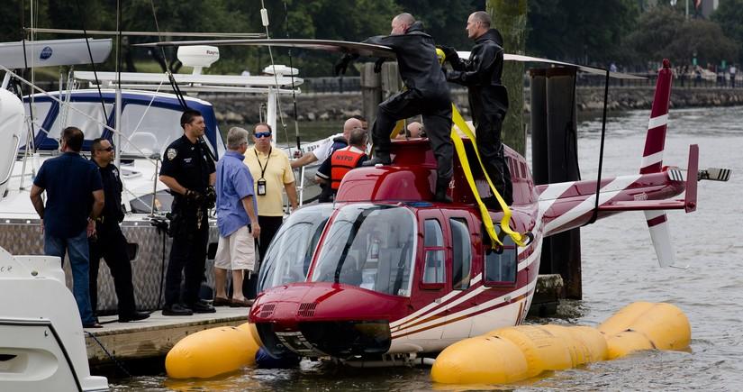ABŞ-da helikopter çayda batıb, itkin düşənlər var