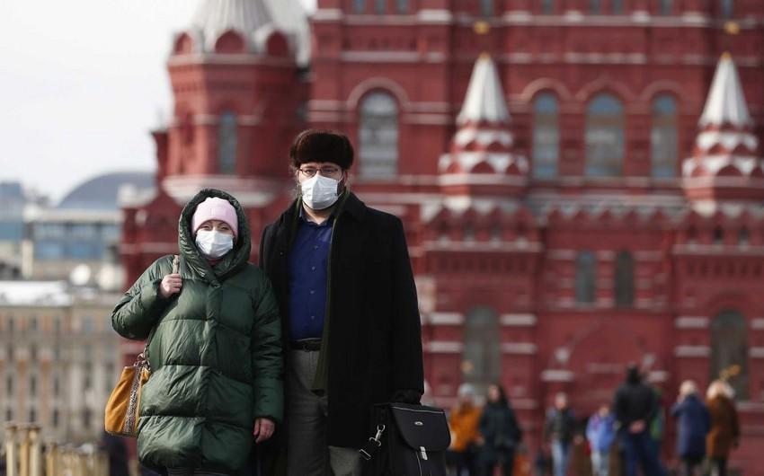 Rusiyada koronavirusa yoluxanların sayı 100 000-ə çatır