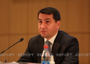 Hikmet Hajiyev: Mining of Azerbaijani territories by Armenia prevents people from returning to their homes