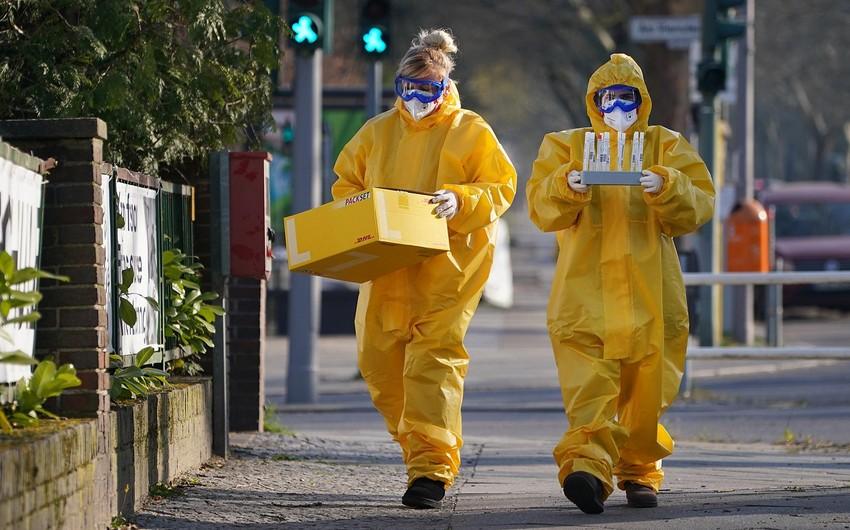 Almaniyada koronavirusdan ölənlərin sayı 1 000-ə yaxınlaşır