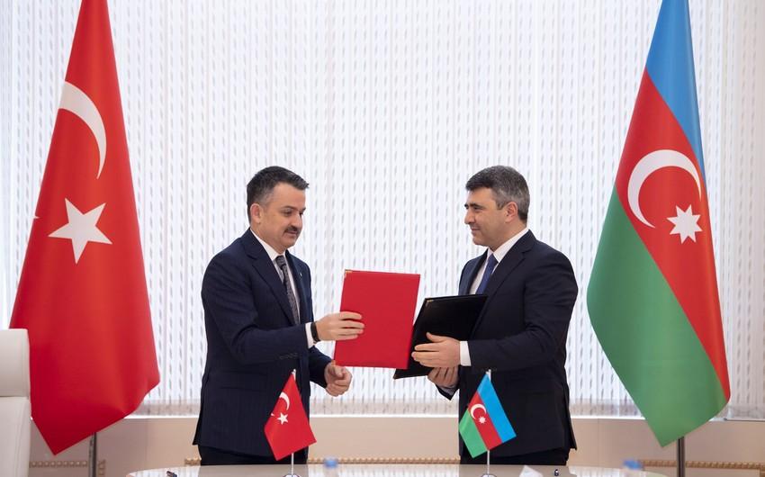 Азербайджан и Турция подписали Декларацию о намерениях по аграрному сотрудничеству