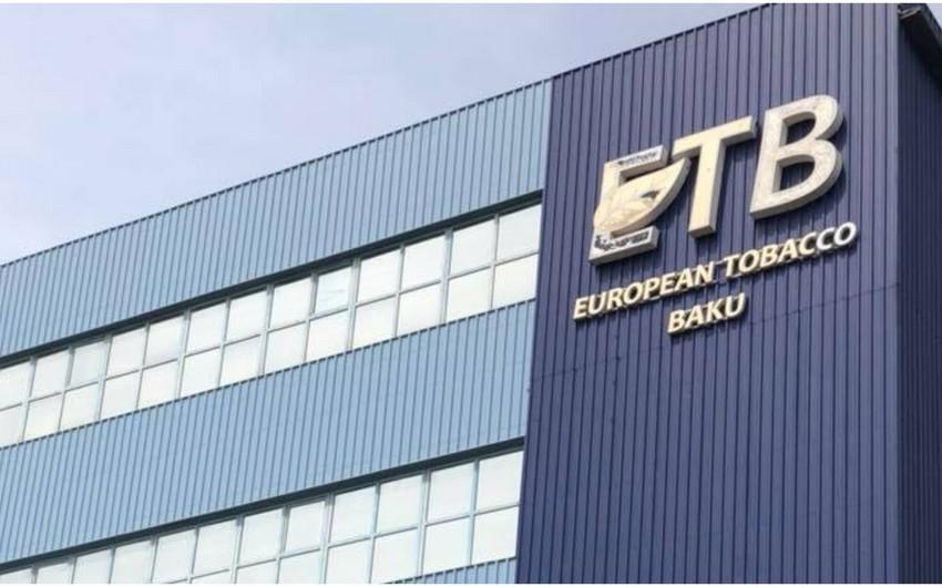 """""""European Tobacco-Baku""""nun səhmlərinin bazar dəyəri nominal dəyərindən 2 dəfə çoxdur"""