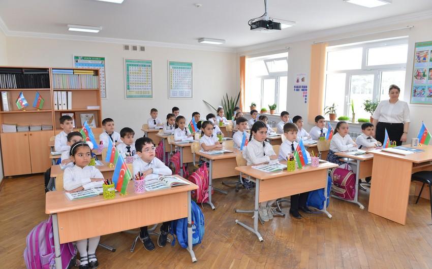 В Баку поступило более 43 тыс. обращений в связи с приемом в первые классы