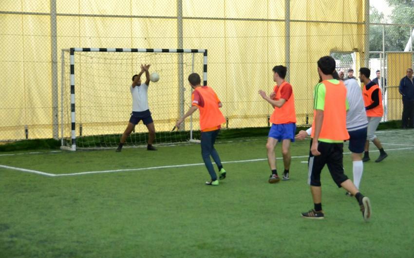 Gənc jurnalistlərin 1-ci Futbol Çempionatının açılış mərasimi keçirilib