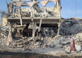 Somalinin paytaxtında terror aktı olub