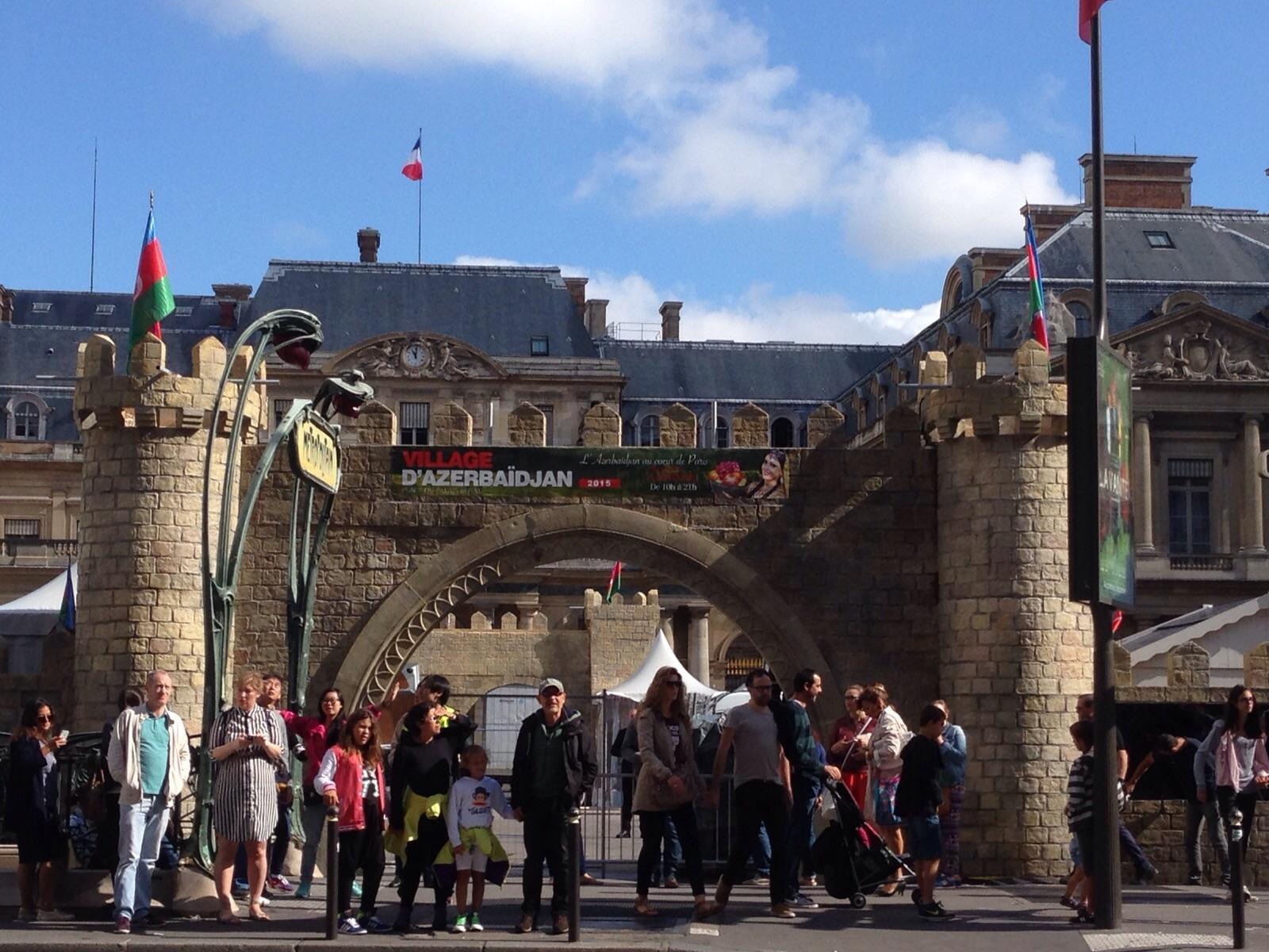 Heydar Aliyev Foundation to  organize Azerbaijani town in Paris