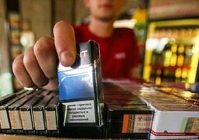 Yetkinlik yaşına çatmayanlara tütün məmulatı satanlar cərimələnib